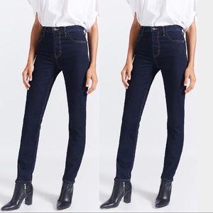 Current/ Elliott Stovepipe Straight Dark Blue Jean